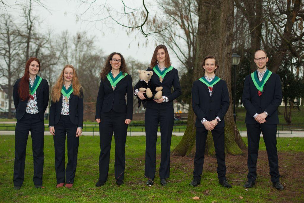 74e bestuur   Utrechts Studenten Koor & Orkest